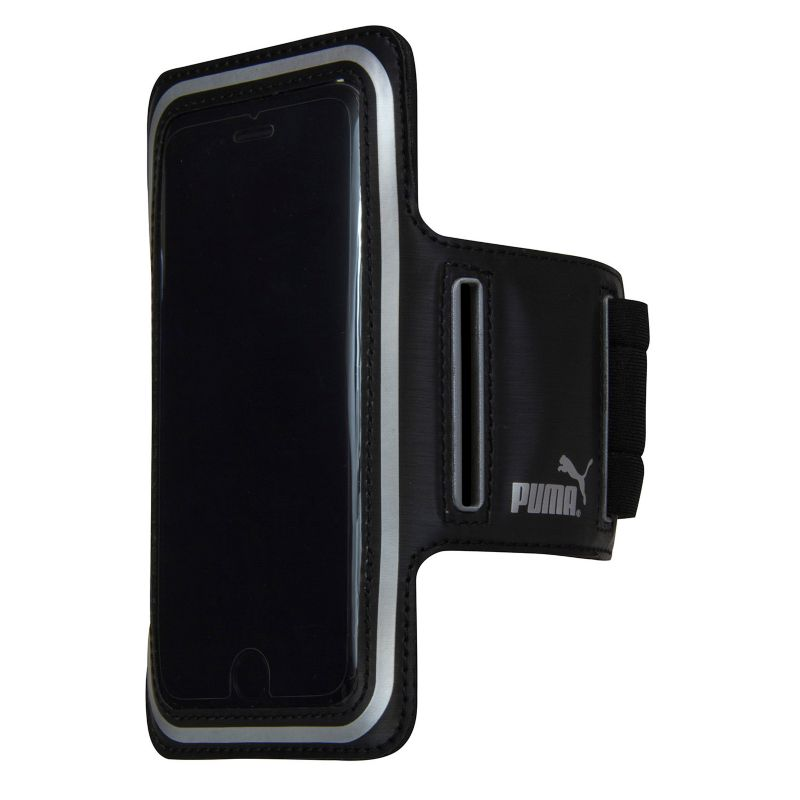 PUMA Smartphone Sport Workout Armband, Black