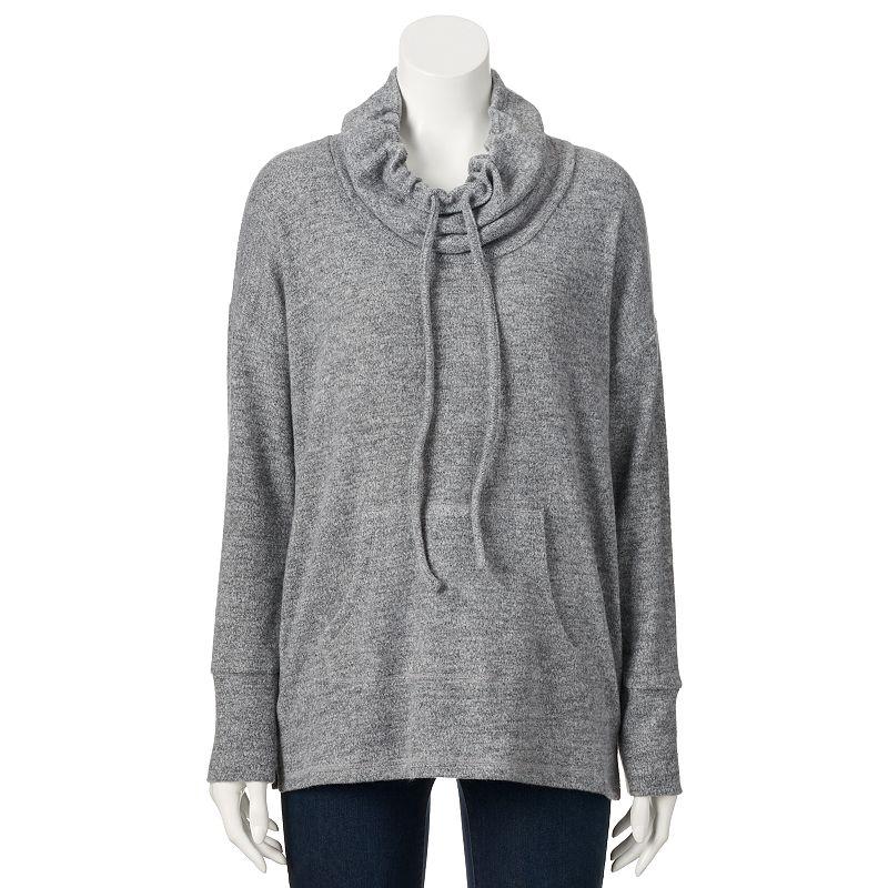Women's SONOMA Goods for Life™ Cowlneck Tunic Sweatshirt