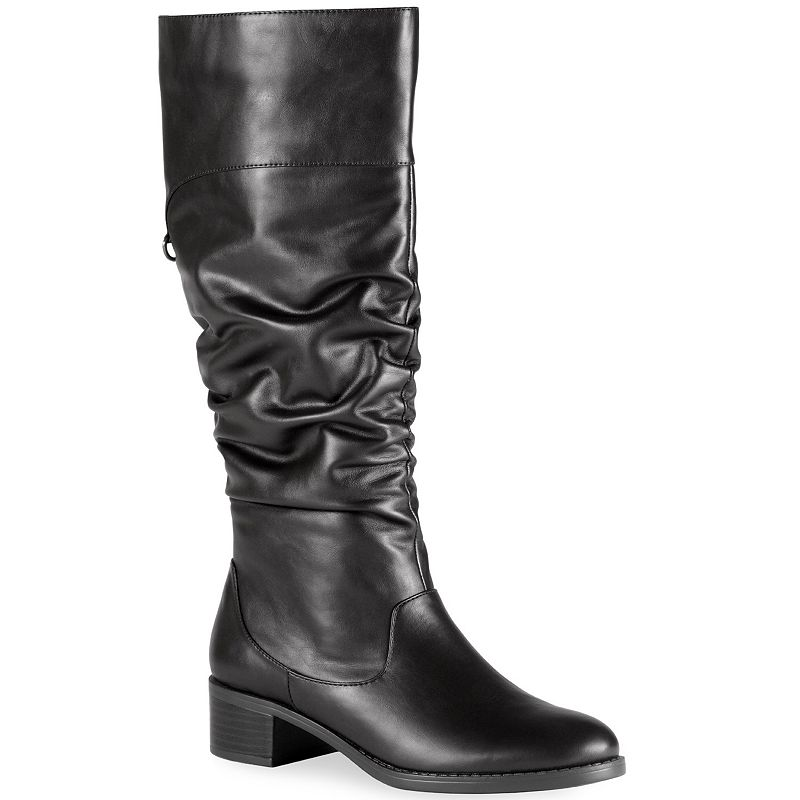 Easy Street Cheyenne Women's Slouch Tall Riding Boots