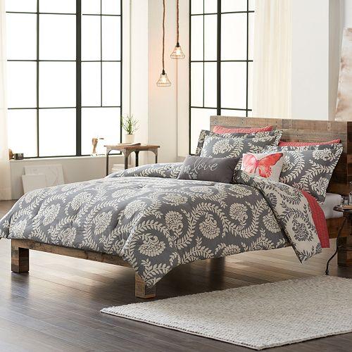 sonoma life style pembrook comforter set