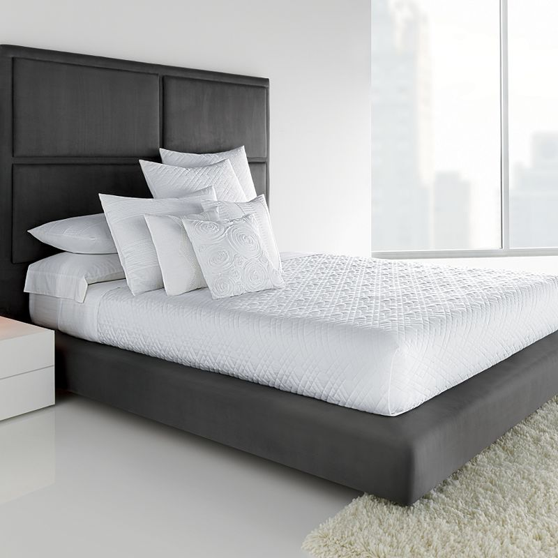 Simply Vera Vera Wang Solid Quilted Coverlet