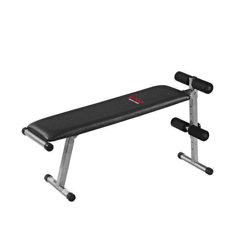 Sunny Health & Fitness 2-in-1 Sit-Up Bench
