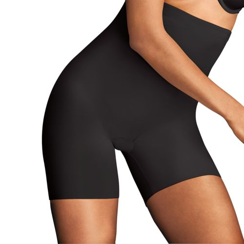 Maidenform Shapewear Sleek Smoothers High-Waist Boyshorts DM2561 - Women's