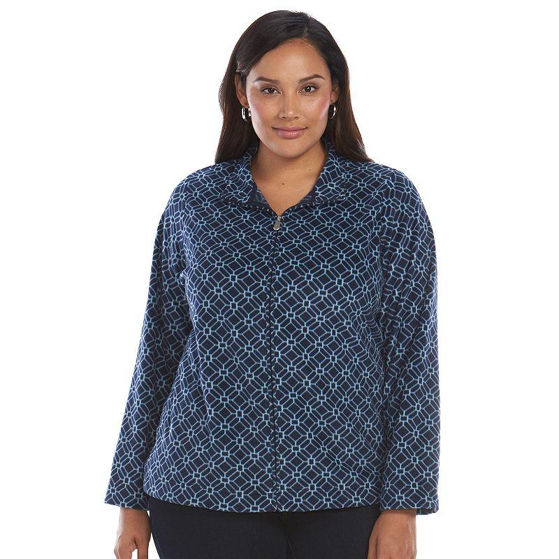 Plus Size Croft & Barrow® Fleece Jacket