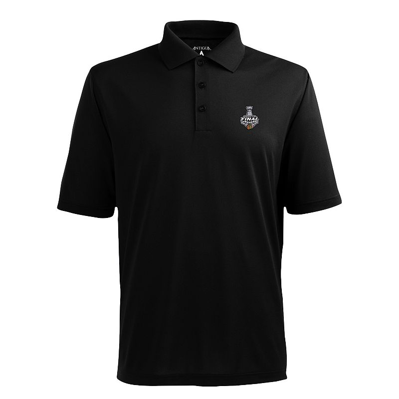 Men's Antigua Chicago Blackhawks 2015 Stanley Cup Finals Pique Xtra Lite Polo