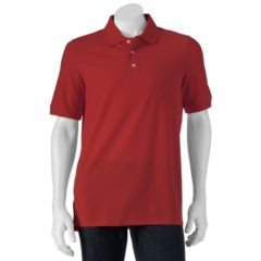 Men's Croft & Barrow Pique Classic-Fit Pocket Polo