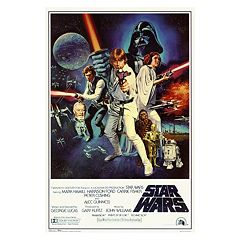 Art.com Star Wars Episode IV New Hope Movie Poster Wall Art by
