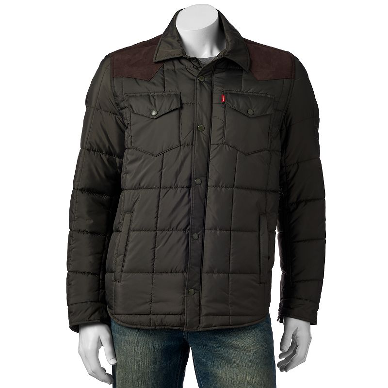 Men's Levi's Quilted Western-Shirt Style Jacket