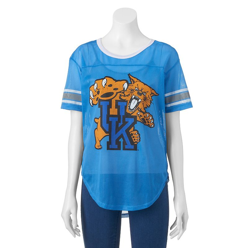 Women's Kentucky Wildcats Burnout Mesh Jersey