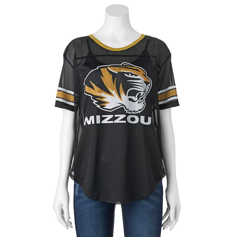 Women's Missouri Tigers Burnout Mesh Jersey