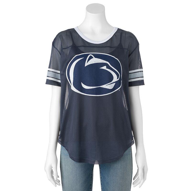 Women's Penn State Nittany Lions Burnout Mesh Jersey