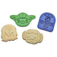 ThinkGeek 6-pc. Star Wars Rebel Cookie Cutter Set