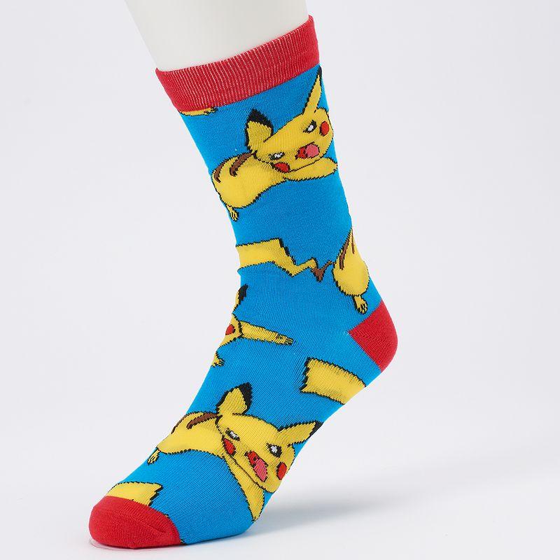 Men's Pokémon Pikachu Crew Socks