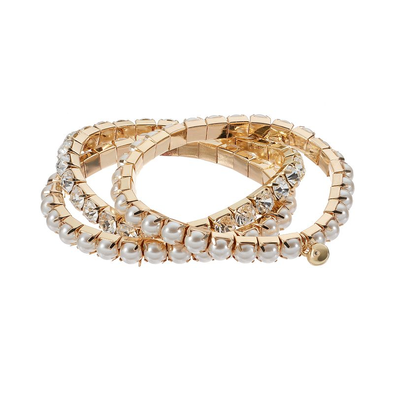 Croft & Barrow® Stretch Bracelet Set