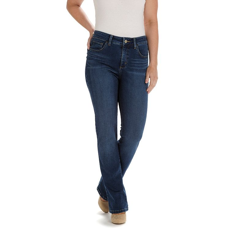 Petite Lee Sophie Classic Fit Straight-Leg Jeans