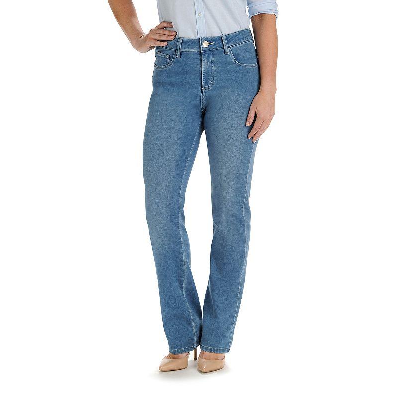 Petite Lee Sophie Classic Fit Straight-Leg Jeans
