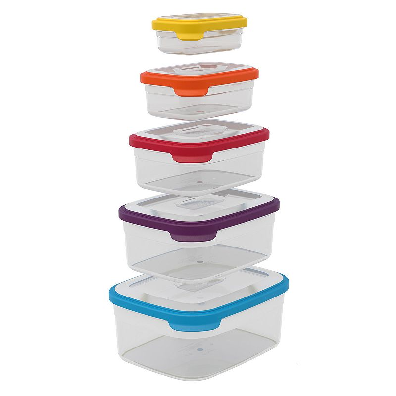 Joseph Joseph Nest 10-pc. Nesting Food Container Set
