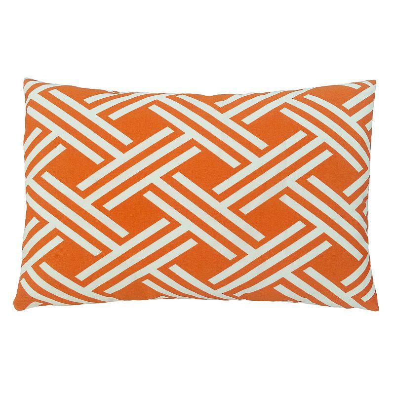 Edie, Inc. Isham Fresco 13'' x 20'' Outdoor Throw Pillow
