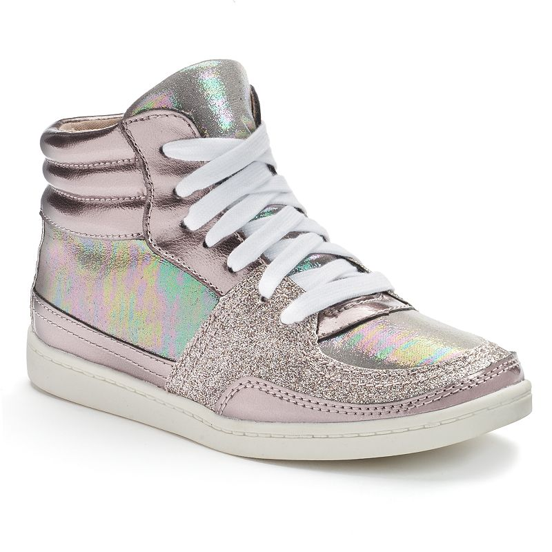 Candie's® Girls' Embellished High-Top Sneakers