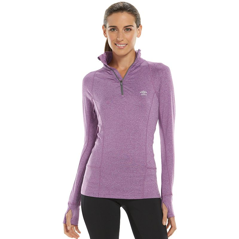 Umbro Stretch Quarter-Zip Jacket - Women's
