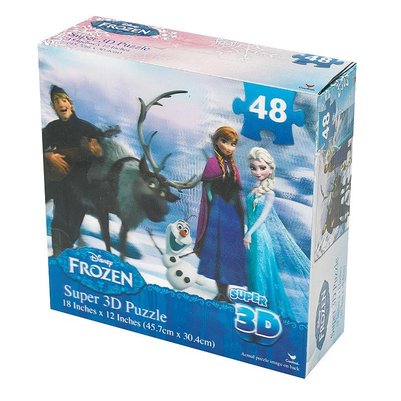 Disney's Frozen 48-pc. Super 3D Puzzle by Cardinal