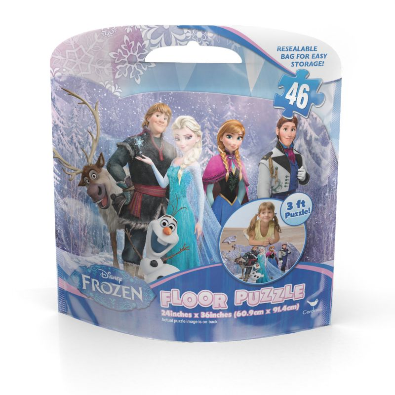 Disney S Frozen 46 Pc Floor Puzzle By Cardinal