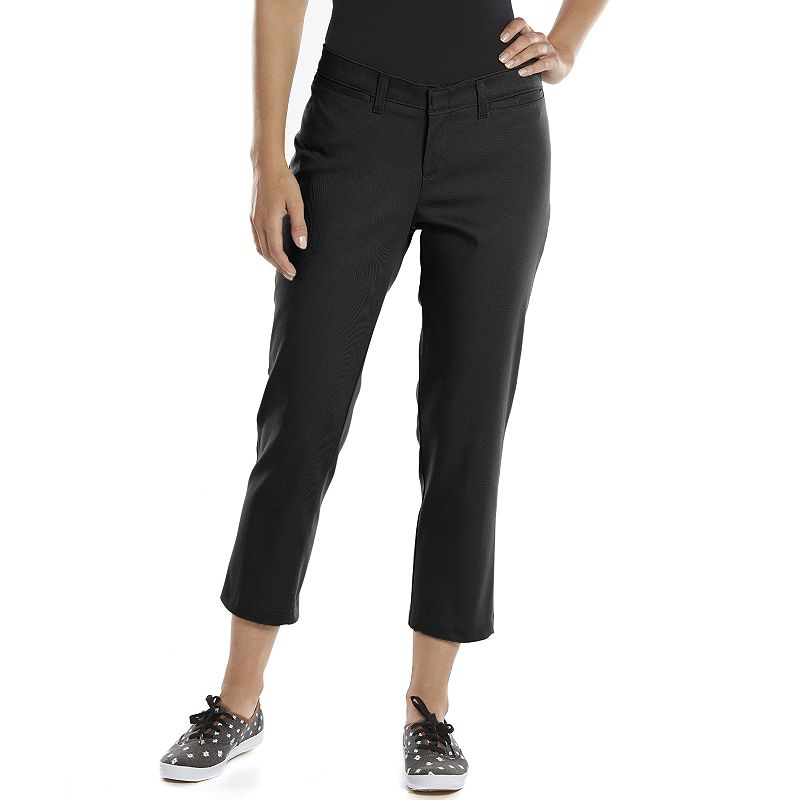 Dickies Relaxed Stretch Twill Capris - Women's
