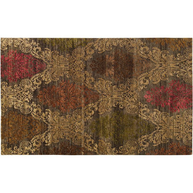 Artisan Weaver Prince Scroll Wool Rug