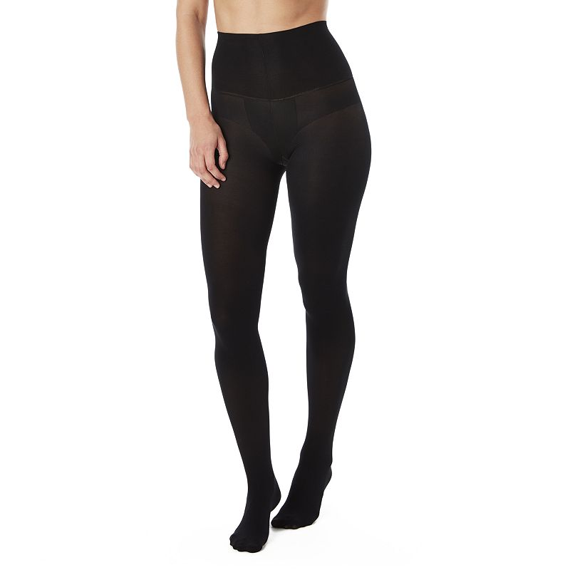 ASSETS Red Hot Label by Spanx Blackout Tummy Toning Tights
