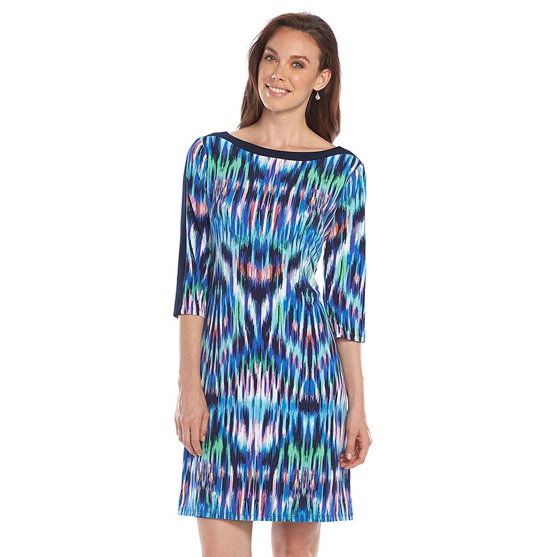 Jessica Howard Kaleidoscope Shift Dress - Women's
