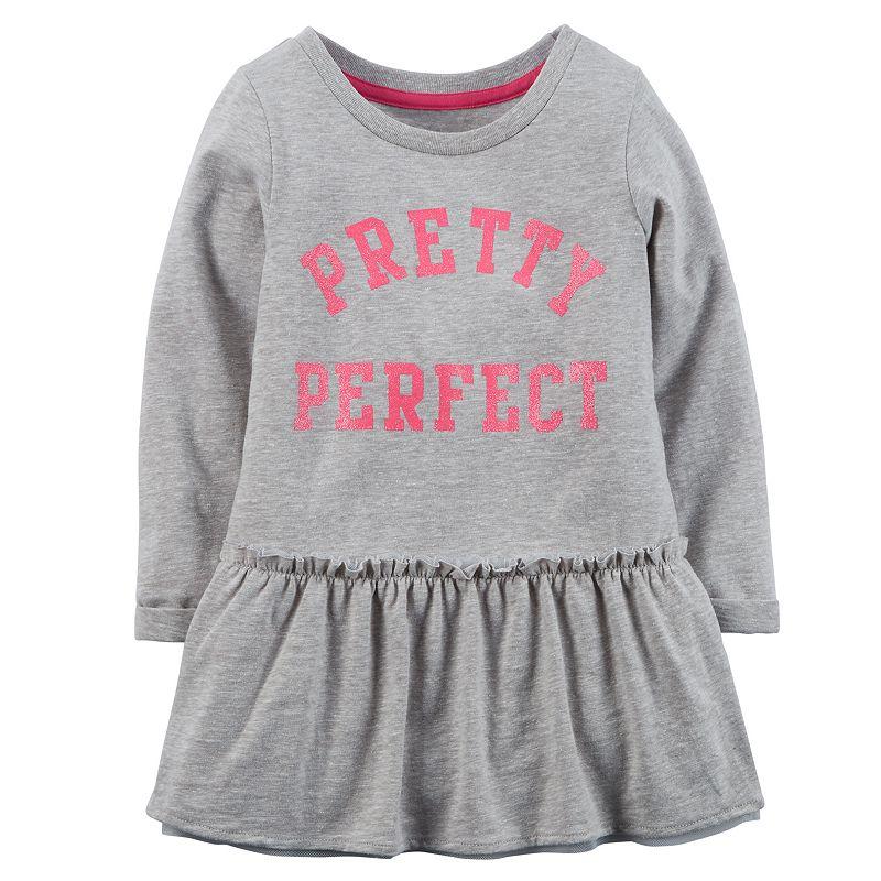 Girls 4-8 Carter's Peplum Graphic Tunic
