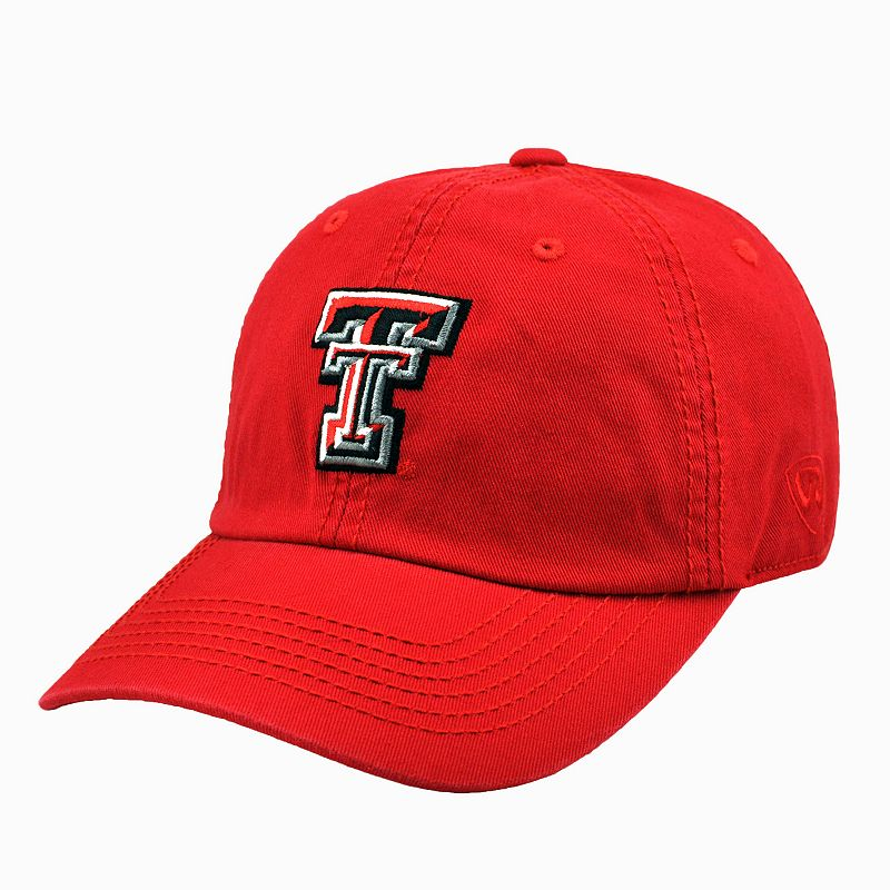 Adult Top Of The World Texas Tech Red Raiders Crew Baseball Cap