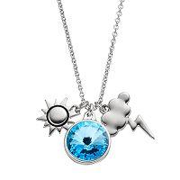 Charming Inspirations Sun & Storm Cloud Charm Necklace