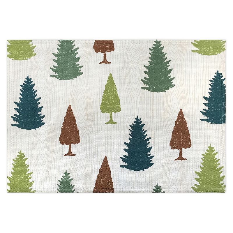 Colordrift Forest Pine Placemat