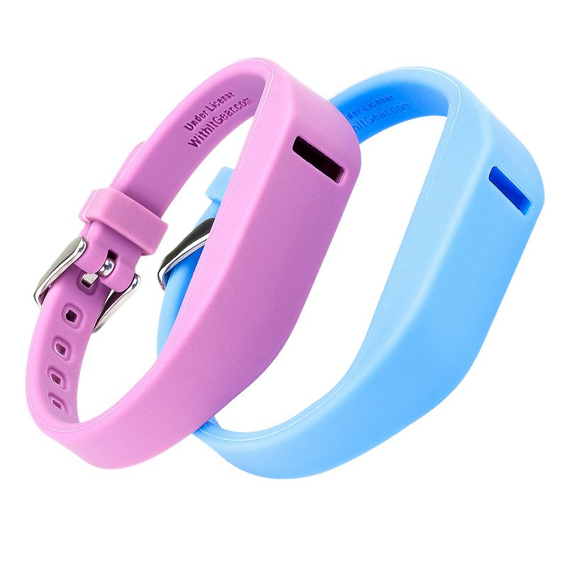 Fitbit Flex Marine & Orchid Accessory Wristband Set by WITHit