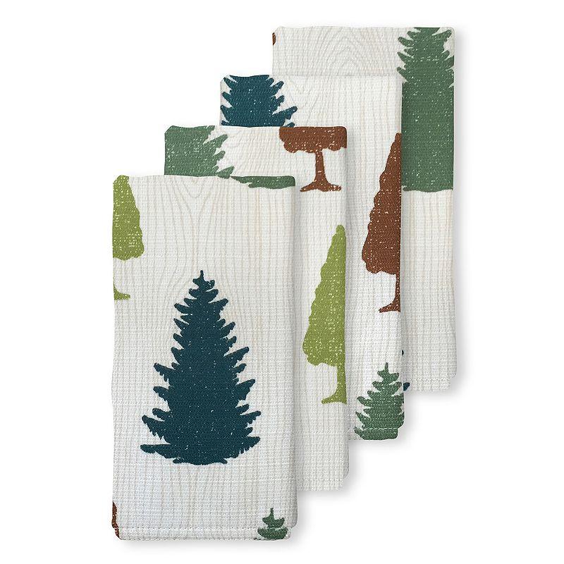 Colordrift Forest Pine 4-pc. Napkin Set