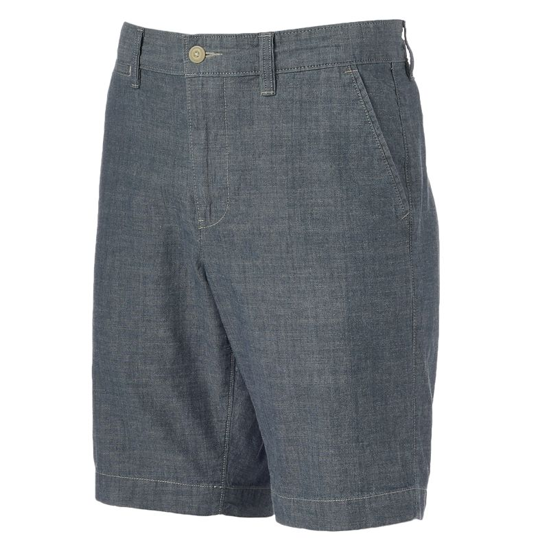 Men's SONOMA Goods for Life™ Solid Twill Chambray Shorts