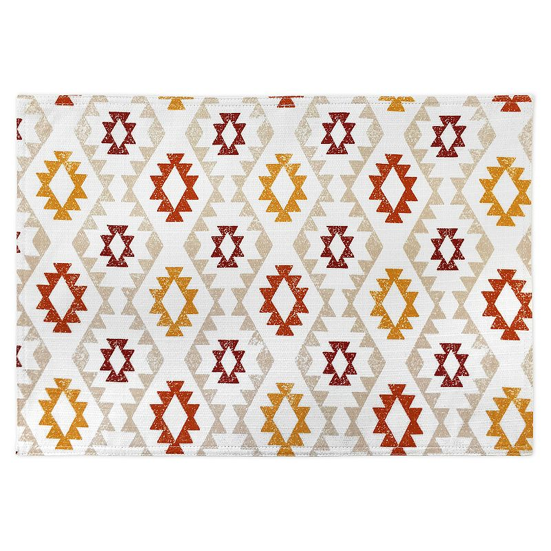 Colordrift Rustic River Placemat