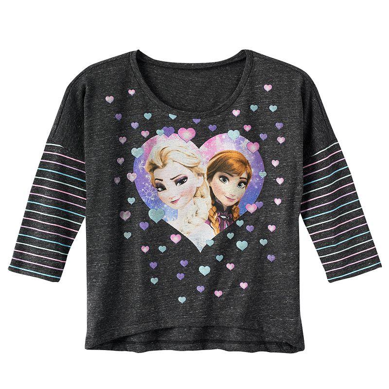 Disney's Frozen Anna & Elsa Graphic Top - Girls' 7-16