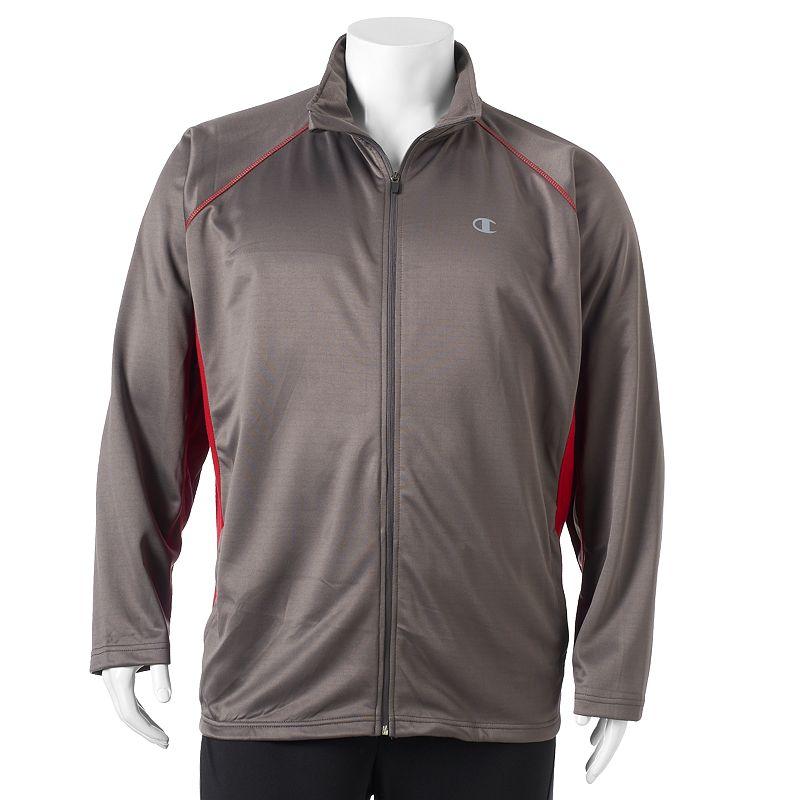 Big & Tall Champion Full-Zip Jersey Jacket