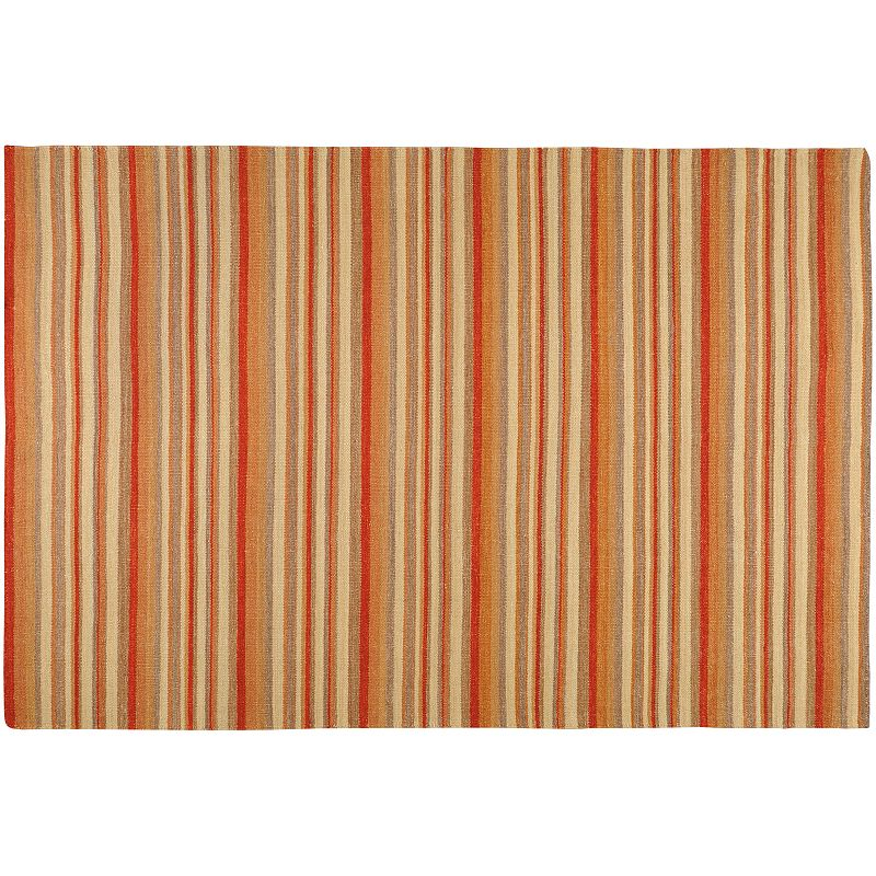 Artisan Weaver Vienna Striped Reversible Wool Rug