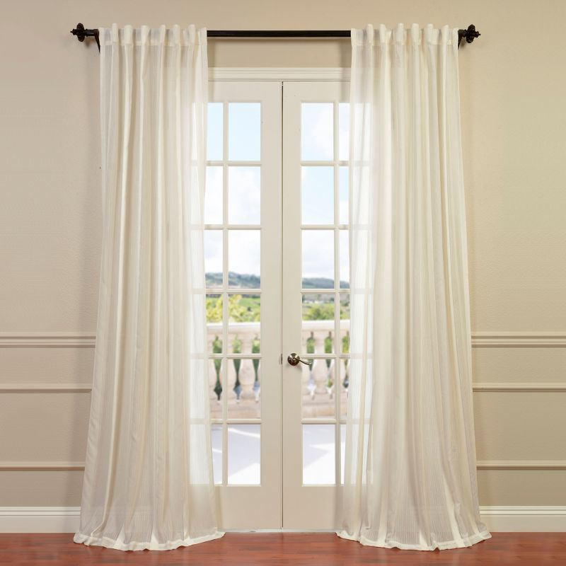 Eff antigua sheer curtain 50 x 108