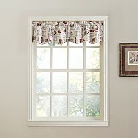 Top of the Window Espresso Straight Valance - 56'' x 14''
