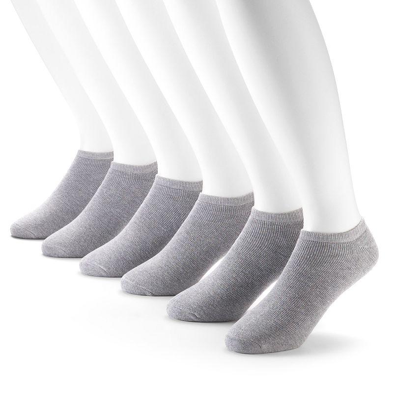 Fruit of the Loom Signature Cushioned No-Show Socks - Men