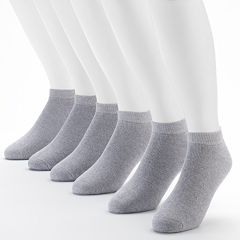 Men's Fruit of the Loom Signature Cushioned Low-Cut Socks
