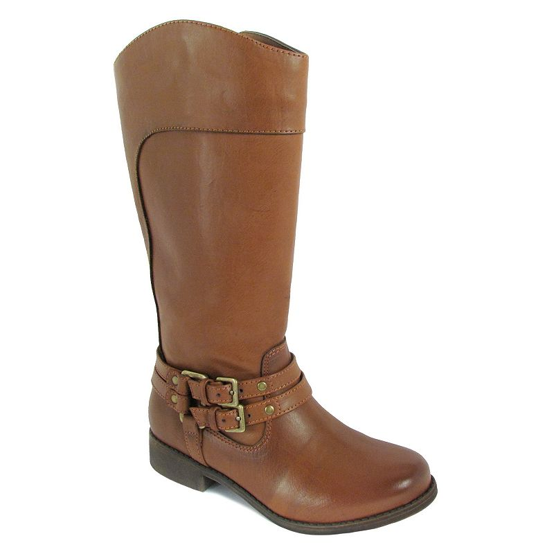 Mia Jules Girls' Buckle Riding Boots