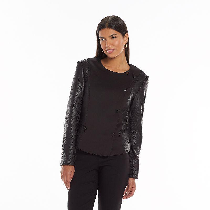 Women's GV Editions Snakeskin Moto Jacket