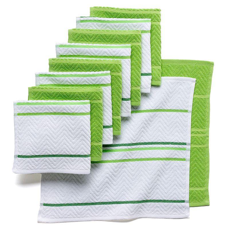The Big One® 10-pc. Chevron Weave Dishcloths