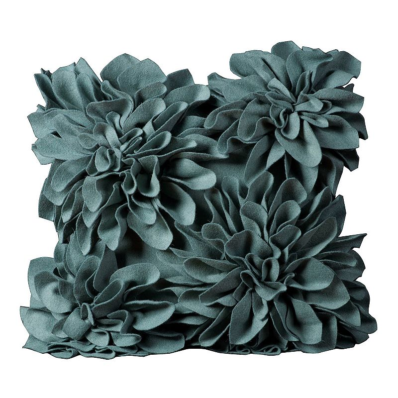 Mina Victory 20'' x 20'' Blooms Throw Pillow