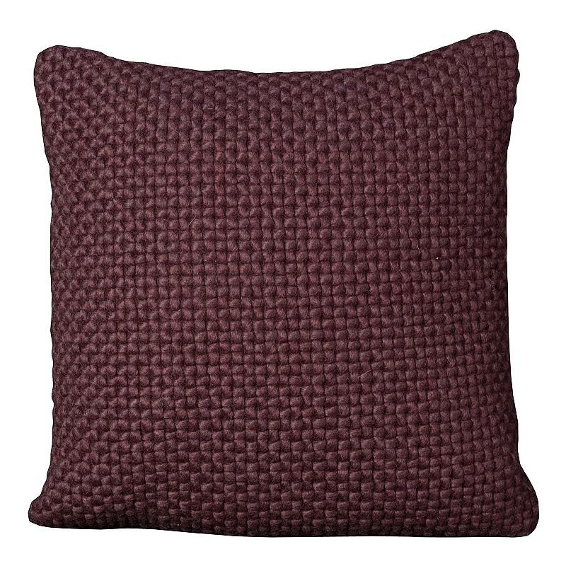 Mina Victory 20'' x 20'' Textured Throw Pillow